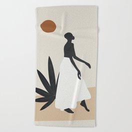 Dance Beach Towel