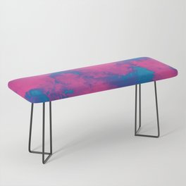 Cotton Candy Clouds Bench