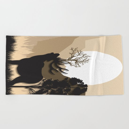My Nature Collection No. 62 Beach Towel
