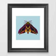 Elephant Hawk Moth Framed Art Print