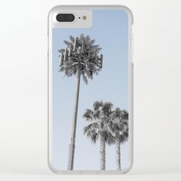 California Connection Tower #17 Clear iPhone Case