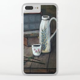 Still Study of Chardin Clear iPhone Case