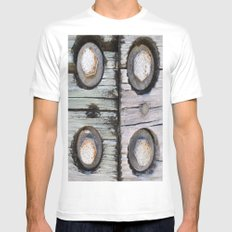 NUTS AND BOLTS Mens Fitted Tee White MEDIUM