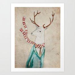 Dear deer. Art Print