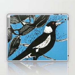 Australian Magpie Laptop & iPad Skin