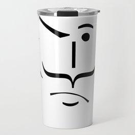 Salvador ascii emoticon  Travel Mug