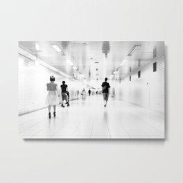 Subway Dream Metal Print