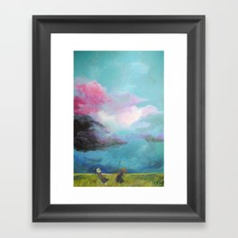 Together They Were Unstoppable Framed Art Print