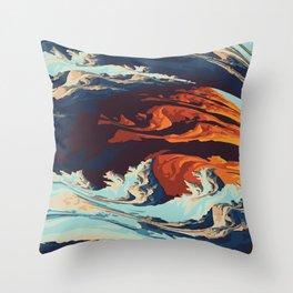 strom Throw Pillow