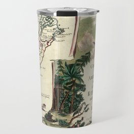 Vintage Map of Bermuda (1778) Travel Mug