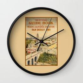 1915 Panama–California Exposition Wall Clock