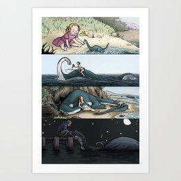 Monsters & Dames 2010 Art Print