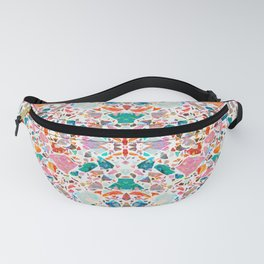 Colorful Crystal Terrazzo Tile Fanny Pack