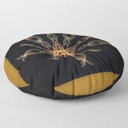 Star Mandala Floor Pillow