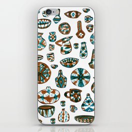New Mexico Pottery iPhone Skin