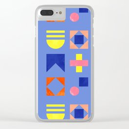 Geometry- pattern no1 Clear iPhone Case