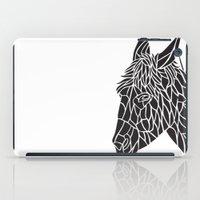 donkey iPad Cases featuring Donkey by Gemma Bullen Design