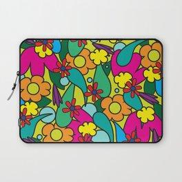 Pop of Color Floral Laptop Sleeve