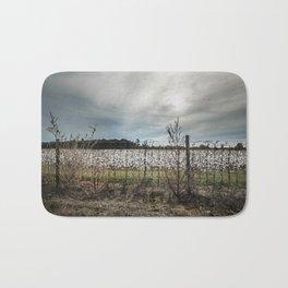 Florida Cotton Fields  Bath Mat