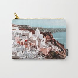 Santorini Greece, Fira Carry-All Pouch