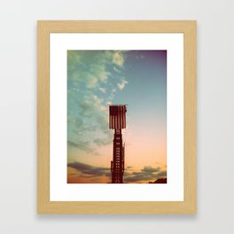 Protect Two Framed Art Print
