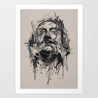 dali Art Prints featuring Dali by nicebleed