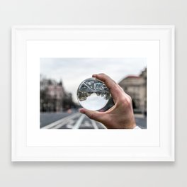 That Upside Down Feeling Framed Art Print