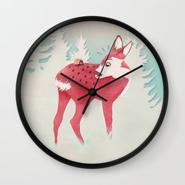 Oh deer, what the bug?! Wall Clock