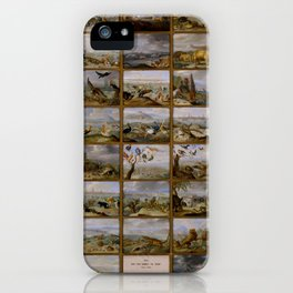 "Jan van Kessel de Oude ""The four parts of the world"" iPhone Case"