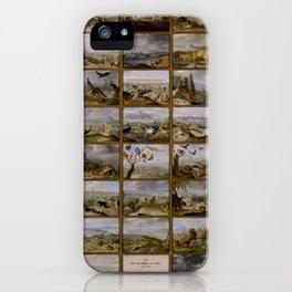 "Jan van Kessel de Oude ""The four parts of the world"" iPhone Case"