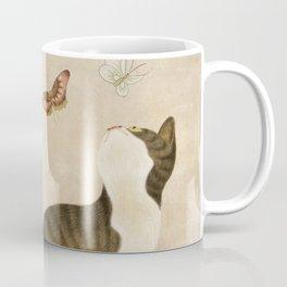 Minhwa: cats & butterflies (Korean traditional/folk art)  Coffee Mug