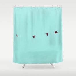 Take Flight - Wild Goose Chase Shower Curtain