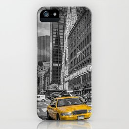 MANHATTAN 5th Avenue iPhone Case