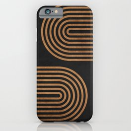 Arches - Minimal Geometric Abstract 2 iPhone Case
