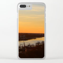 Soaking Up The View Clear iPhone Case