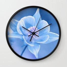 Columbine Flower 161 Wall Clock
