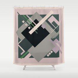 Geometric illustration 8 Shower Curtain