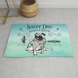Salty Search and Rescue Rug