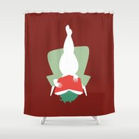 reading Shower Curtains featuring Reading by Katrin Ewert