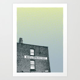 Bed & breakfast Art Print