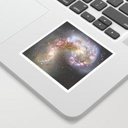 Pixel Nebula Sticker