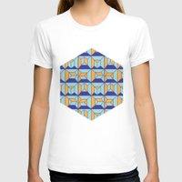 code T-shirts featuring Coatl Code by Pamku