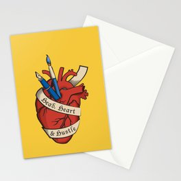 Head, heart & hustle Stationery Cards