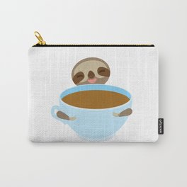 sloth & coffee Carry-All Pouch