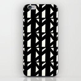 Marsman Black & White Pattern iPhone Skin