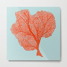 Coral Of The Sea Metal Print