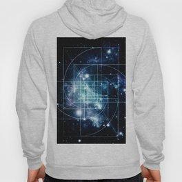 Galaxy Sacred Geometry: Golden Mean Hoody