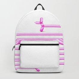 (Very) Long Ballooned Dachshund Backpack