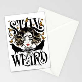 Rose and The Ravens | Stay Weird Stationery Cards