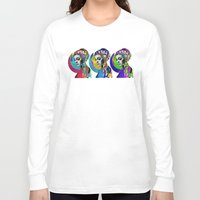 pop art Long Sleeve T-shirts featuring Pop by Steve W Schwartz Art